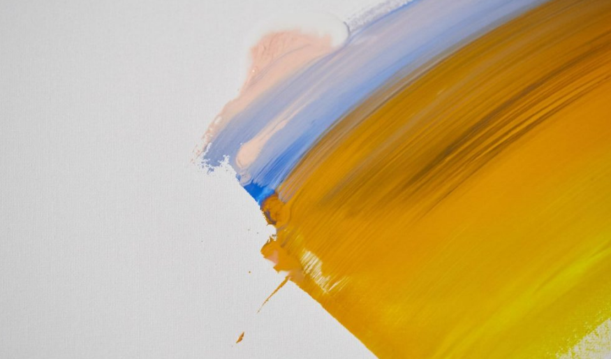 How to blend acrylic colors